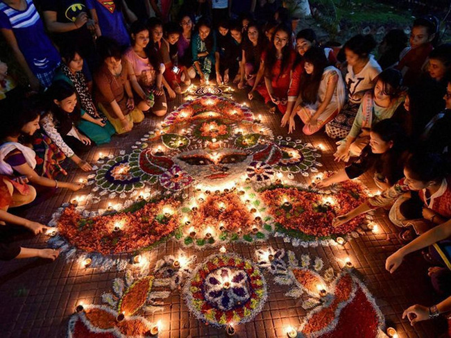 праздник Дивали 2018